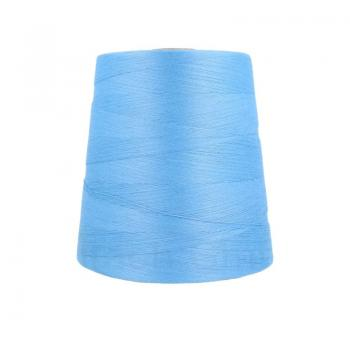 Ne 12/4 bag sewing thread polyester cones about 2,5 kg, blue