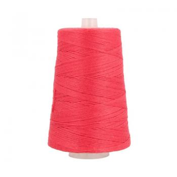 Ne 12/4 bag sewing thread polyester 200 g Cone, red